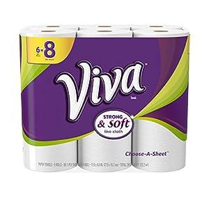 VIVA Choose-A-Sheet Paper Towels  Wh...