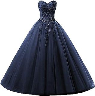 Zorayi Damen Liebsten Lang Tüll Formellen Abendkleid Ballkleid Festkleider