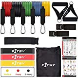 FITSY® 16PCS Resistance Bands Set for Exercise, 5 Stackable...