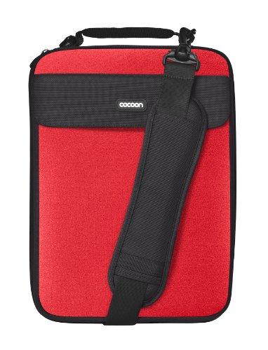 "Cocoon CLS358RD Nolita II Neoprene 13"" Laptop Sleeve Includes Grid-IT! Accessory Organizer (Racing Red)"