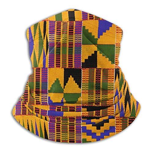 African Art Symbols Neck Gaiter Face Mask,Magic Scarf Balaclava For Men And Women