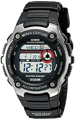 Casio WV200A-1AV Atomic Time Digital (Model: EAW-WV-200A-1AV)