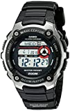 Casio Wave Ceptor Quartz Watch with Resin Strap, Black, 16 (Model: EAW-WV-200A-1AV)
