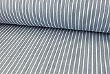 Qualitativ hochwertiger Baumwollstoff, Jeans Stoff mit