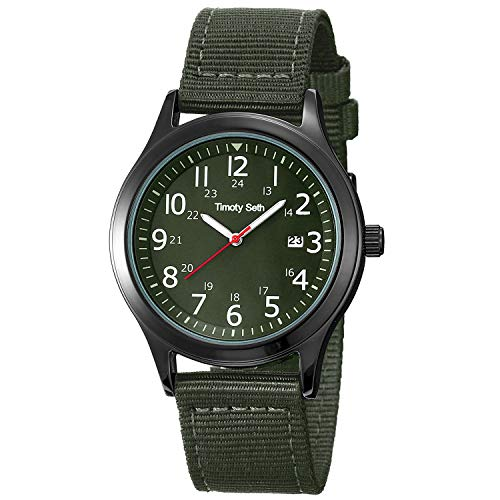 Timoty Seth Mens Teenagers 3 ATM Waterproof Military Army Tactical Field...