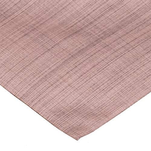 Heimtexland ® Outdoor Serie gemêleerd tafelkleed rond ovaal rechthoekig tafelloper kussen stoelkussen tuin decoratie type 645 Mitteldecke 90x90 cm roze