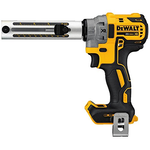 DEWALT 20V MAX XR Cable Stripper, Cordless, Tool Only (DCE151B) , White