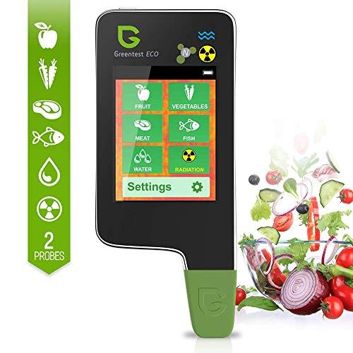 Greentest Eco 5 + contatore di nitrati per pesci Geiger contatore di nitrati per frutta, verdura, carne e acqua TDS tester di radiazione contatore Geiger contatore di radiazioni dosimetro