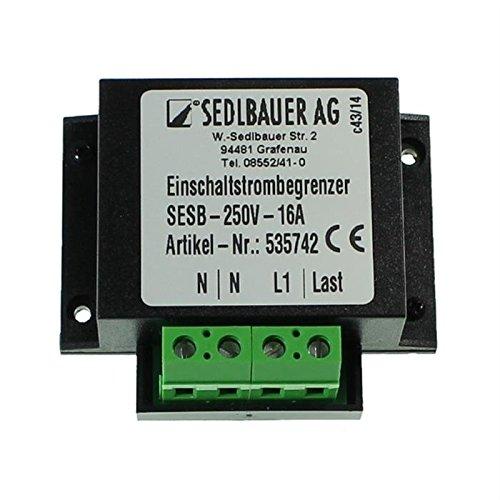 Einschaltstrombegrenzer 230V 16A für Transformatoren, Netzteile, LED.