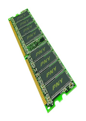 PNY PremiumRAM DRAM 2GB DIMM DDR2 PC800 (PC6400) CL5-5-5 Arbeitsspeicher