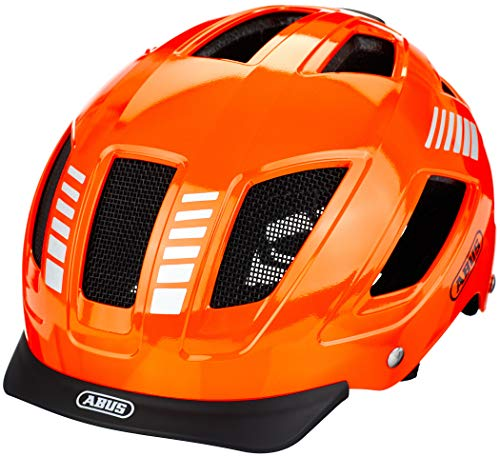 ABUS Unisex-Adult's HYBAN 2.0 Helmet, Signal Orange, L