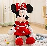 N / A Peluche de Mickey y Minnie Mouse muñecas de Peluche de cumpleaños Regalos de Boda para niños bebé niños 40 cm