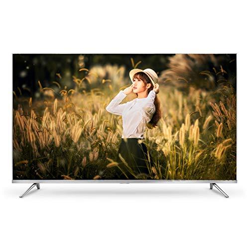 HAOLA Televisores Smart TV 4K UHD de 50/55/60 Pulgadas, Televisión de Resolución 2160 con 2 x HDMI USB 2.0 HDR WiFi TV con Control Remoto Android Smart TV