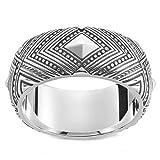 THOMAS SABO Unisex-Ring Afrika Ornamente 925 Silber Gr. 62 (19.7) - TR2127-637-21-62