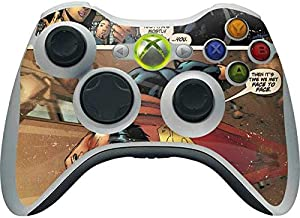 Skinit Decal Gaming Skin for Xbox 360 Wireless Controller - Officially Licensed Warner Bros Superman Comic Strip Design