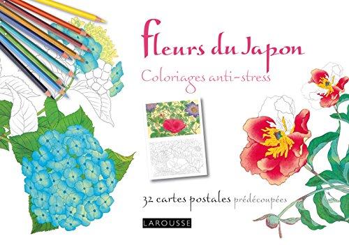 Fleurs du Japon coloriages anti-stress 32 cartes postales (Coloriages artistes)