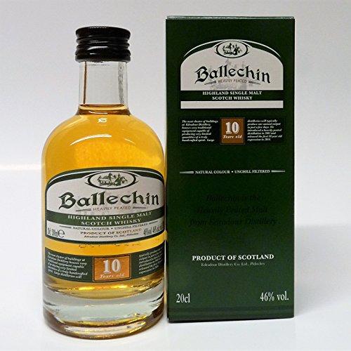 Edradour Ballechin 10 Years Old mit Geschenkverpackung Whisky (1 x 0.2 l)