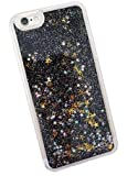 oras glitter bling quicksand liquid waterfall girls soft silicone mobile phone back case cover for...