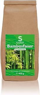 Bambusmehl aus 100% Bambusfasern   vegan und glutenfrei   400 g