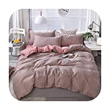 Flamingo Juego de funda de edredón y fundas de almohada para niños y niñas, 4 unidades, algodón, 2TJ-61009-009, King 4pcs 220x240cm