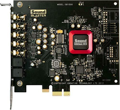 Creative Labs 70SB150000000 Placa de som Sound Blaster Z 5,1 canais PCI Express de 24 bits