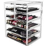 Kryllic Acrylic Makeup Organizer And Storage Large 7 Drawer Cosmetic Organizer Cosmetic Display Cases Organizer For Vanity Acrylic Makeup Organizers And Storage