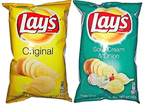 フリトレー レイズ ポテトチップス 塩味&サワークリーム&オニオン味 各1袋セット