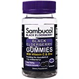 ELDERBERRY GUMMIES: These delicious gummies provide the equivalent of over 3g of black elderberry per serving. 2 gummies are approximately equivalent to one serving of the Sambucol original syrup IMMUNE SUPPORT FOR THE WHOLE FAMILY: Sambucol elderber...
