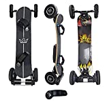 KYNG Electric Skateboard 40' Longboard Mountain Board with Wireless...