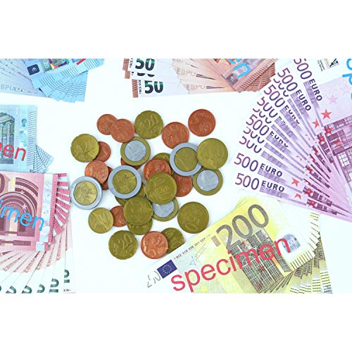 EDUPLAY Set de Monedas y Billetes Euro