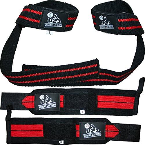 Wrist Wraps + Lifting Straps Bundle