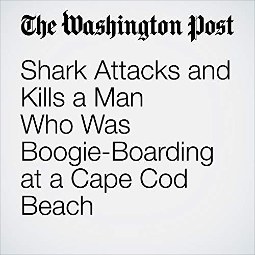 Shark Attacks and Kills a Man Who Was Boogie-Boarding at a Cape Cod Beach copertina