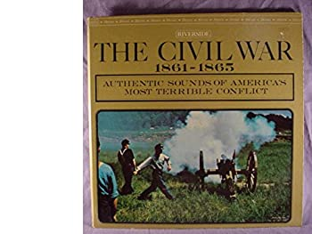 Rare Riverside Records Near Mint Stereo Lp & Gate-fold Cover - The Civil War 1861-1965 - Authentic Sounds Of America s Most Terrible Conflict - 1961