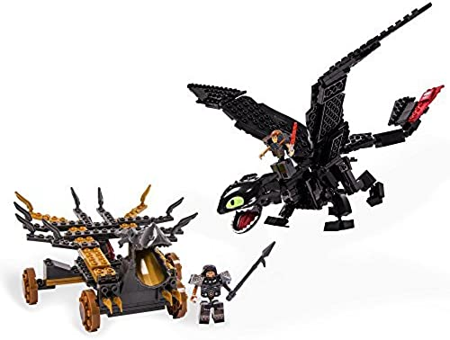 IONIX  How To Train Your Dragon 2 - Giant Toothless Battle Set by Ionix Dragons