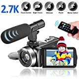 Videocamara Digital 2.7K 30FPS 30MP Videocamara de Video con Pantalla...