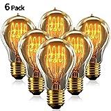 Edison Vintage Glühbirne A19 40W