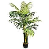 Plante artificielle 145 cm palmier palmier artificiel plante d'intérieur arbre décoratif
