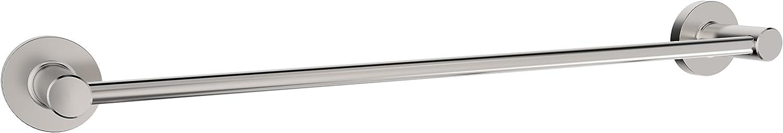Serenade ST241-BN Bath Hardware Accessory 24  Towel Bar, Brushed Nickel
