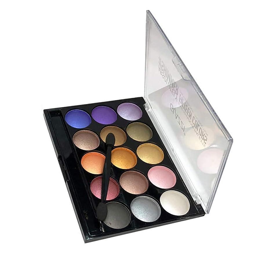 タクト発明する水を飲む化粧品メイクアップシマーマット15色アイシャドーパレットソンブラ