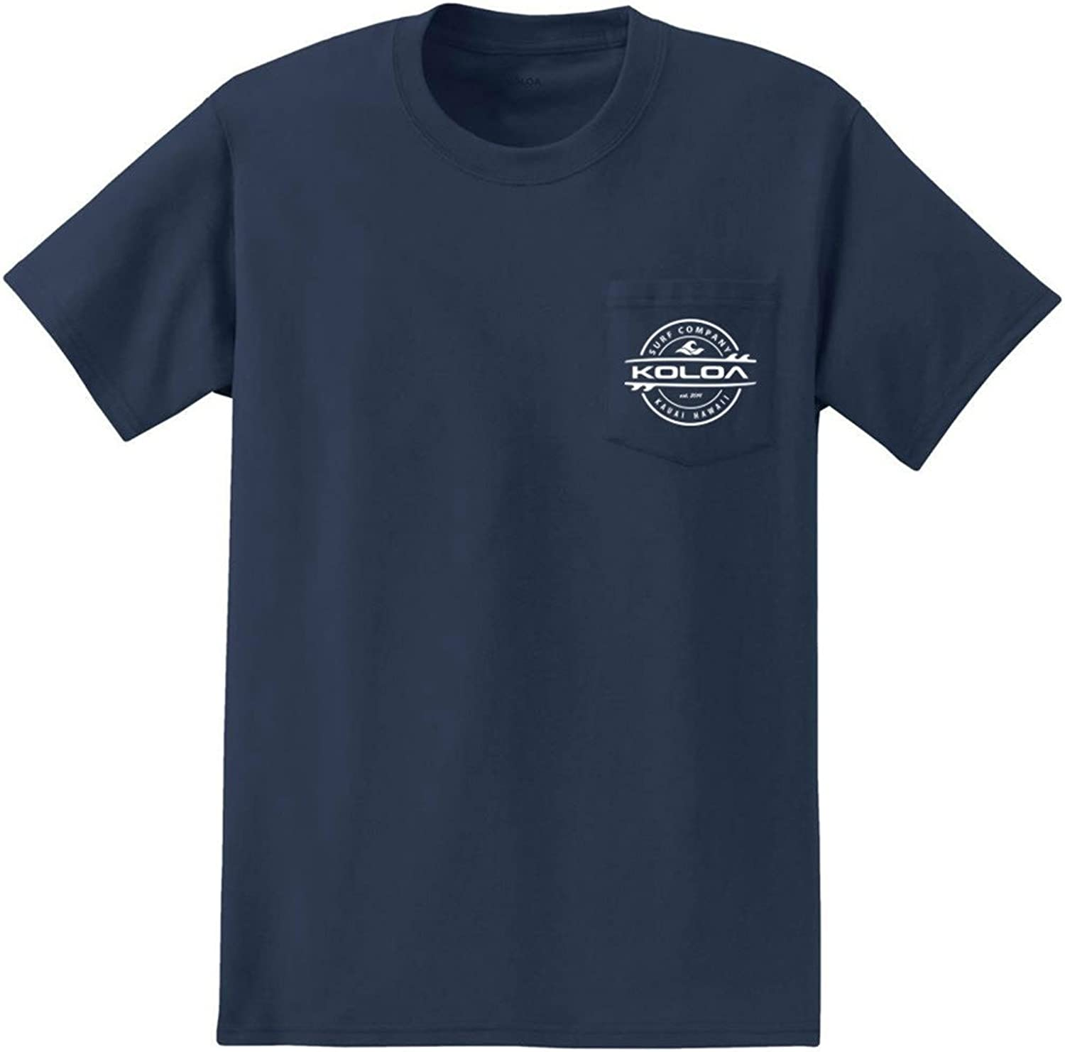 Joe's USA Koloa Thruster Logo Pocket TShirts in Sizes S4XL