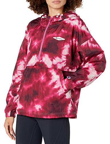 Champion Damen Stadium Anorak, Cloud Burst Hush Pink, Klein