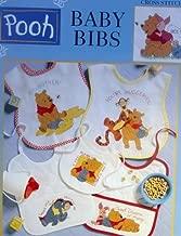Pooh Baby Bibs, Cross Stitch