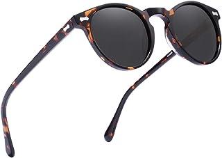 Carfia Vintage Polarized Sunglasses for Men, 100% UV400...