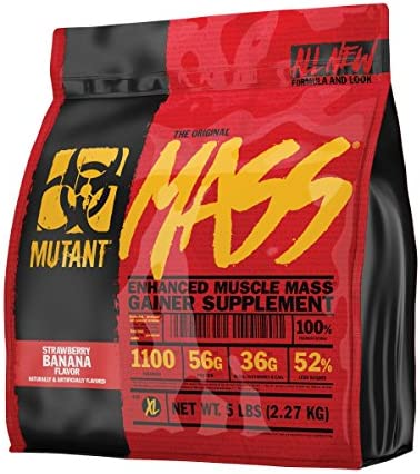 Mutant Mass Weight Gainer Protein Powder Build Muscle Size and Strength with 1100 Calories 56 product image