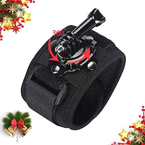 Soporte de Banda de Montaje de Correa de muñeca giratoria de 360 Grados Mojosketch Compatible con la cámara de Deporte de acción Insta360 Insta360 One R Series