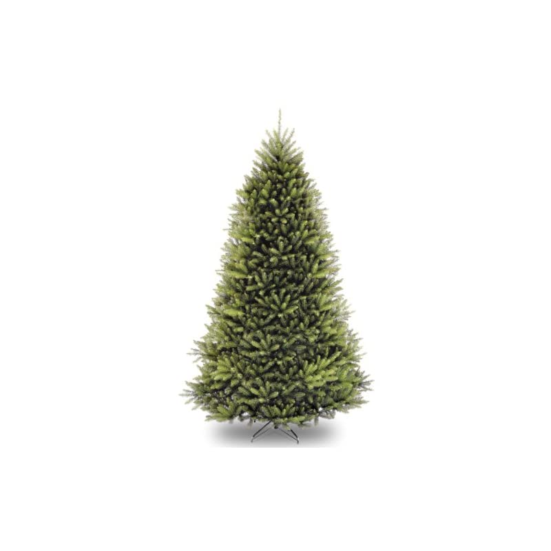 silk flower arrangements national tree company artificial christmas tree   includes stand   dunhill fir - 9 ft