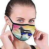 CZLXD Blue Line K9 - Máscara Antipolvo para Perro, máscara de Boca y anticontaminación para Hombre y Mujer
