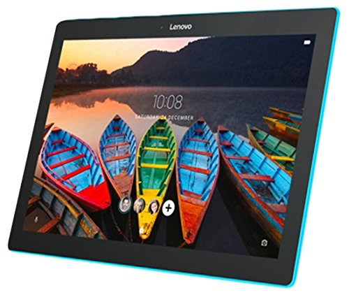 Lenovo TAB10 - Tablet de 10.1' HD (Procesador Qualcomm Snapdragon 210, 2GB de RAM, 16GB de eMCP, Camara frontal de 5MP, SO Android 6.0, WiFi + Bluetooth 4.0) color negro