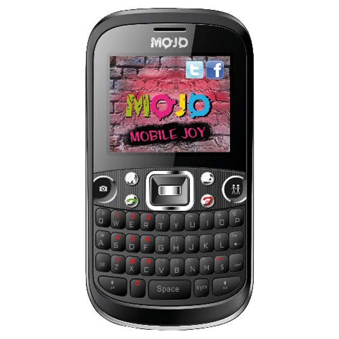 Mojo - Tesco Mojo Chat Black Unlocked Phone(Bluetooth, Mp3 , Memory, 1.3 Camera,)