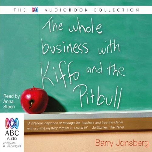 The Whole Business with Kiffo & the Pitbull audiobook cover art